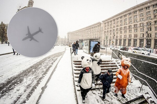 У Києві через туман виникли проблеми з літаками