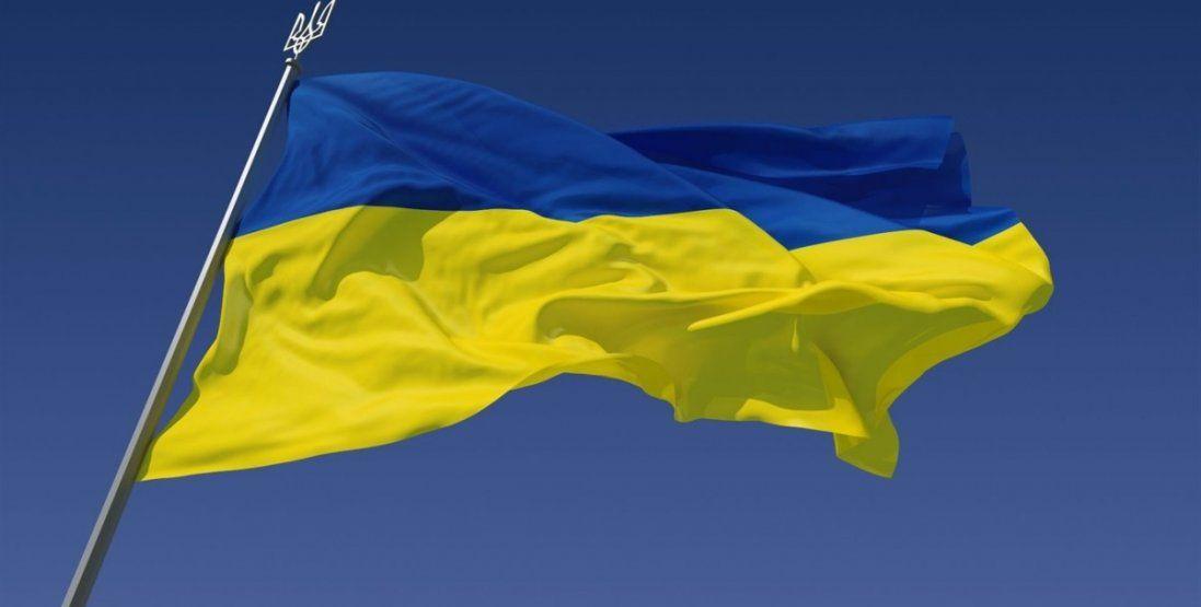 Як окупанти на Донбасі познущалися над прапором України (відео)
