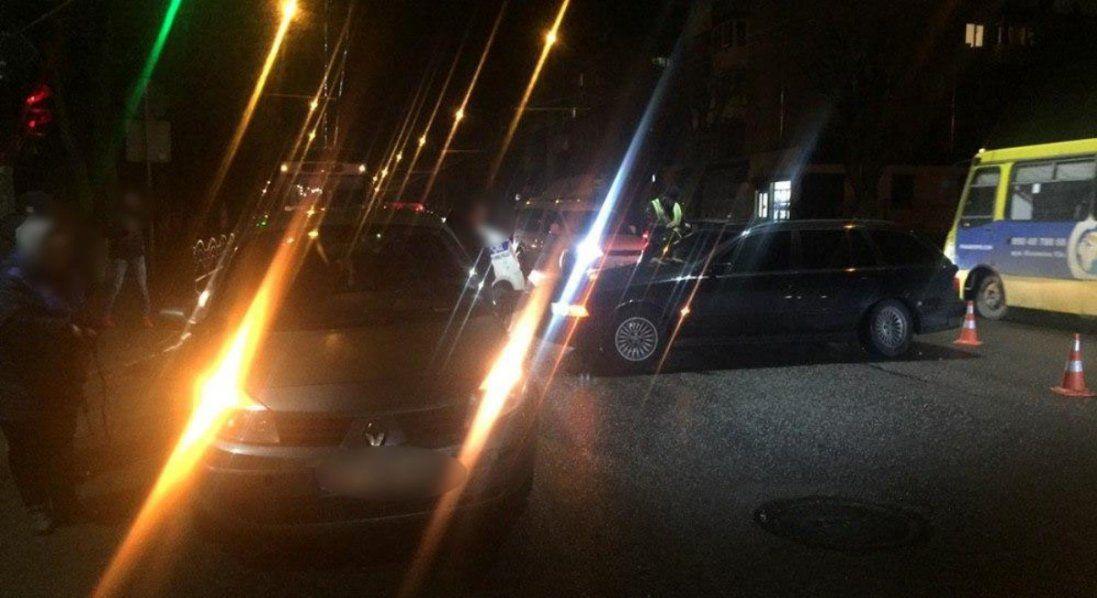 У Луцьку п'яний водій «вискочив» на червоне світло і скоїв ДТП