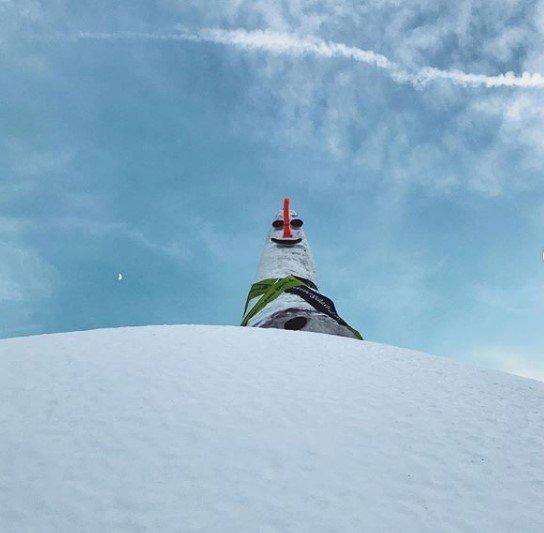 Австрійський сніговик Різі / фото з інстаграму