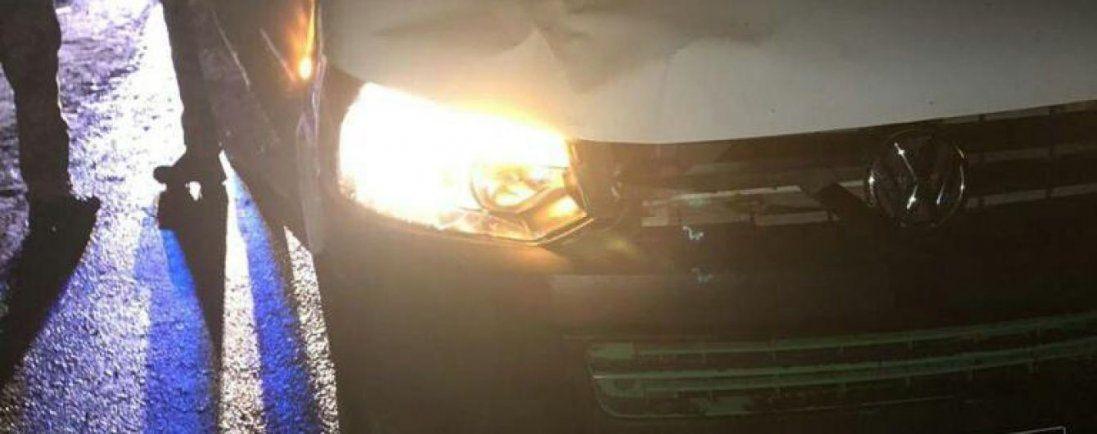 На Львівщині військовий службовим автомобілем збив на смерть пішохода