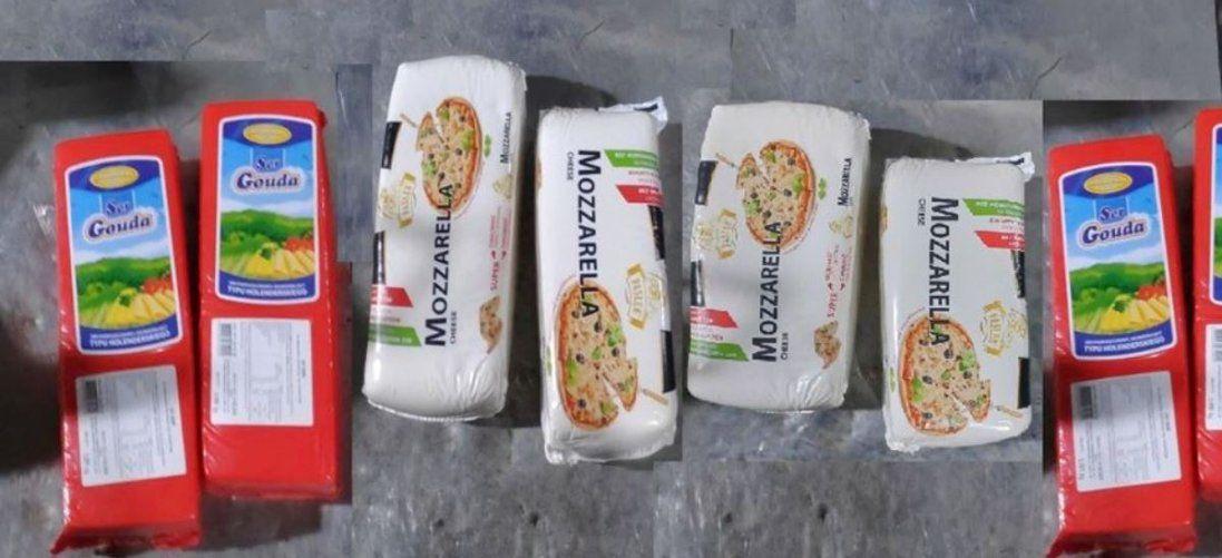 На Волині затримали контрабанду сиру з Польщі (фото)