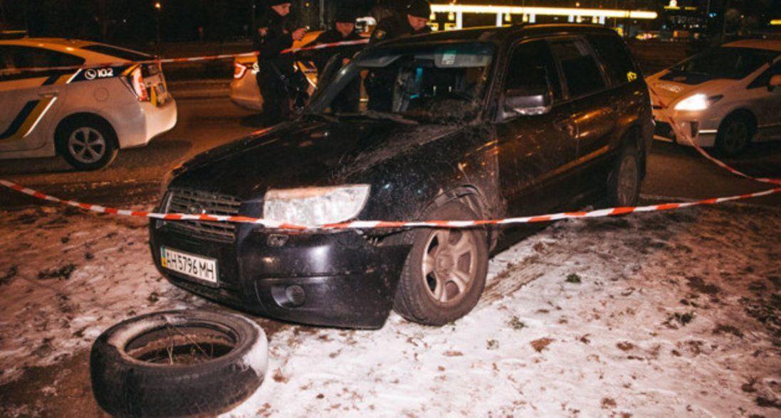 У Києві влаштували погоню зі стріляниною (відео)