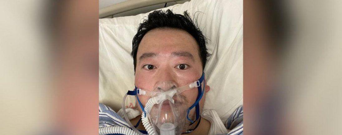 У Китаї помер лікар, який попереджав про спалах вірусу