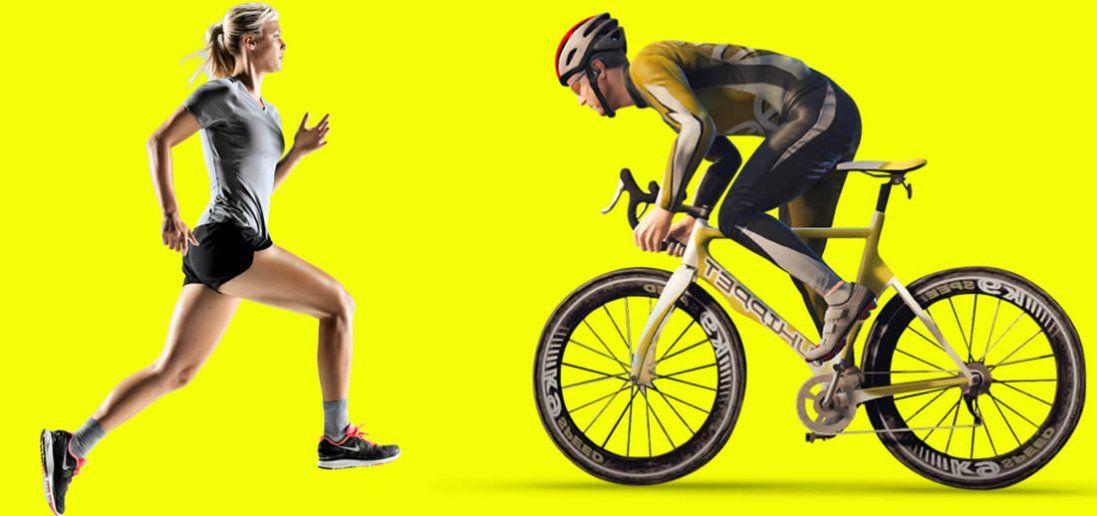 Як схуднути швидше – біг чи велосипед