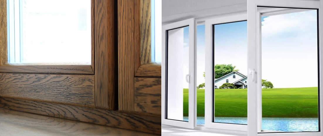 Дерев'яні або пластикові вікна - які краще вибрати