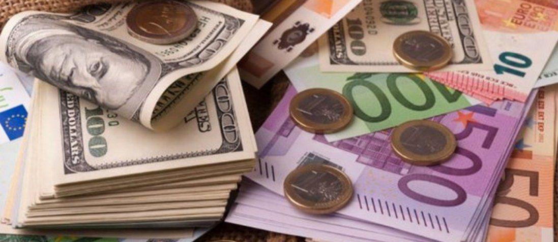 Долар і євро різко впали в ціні