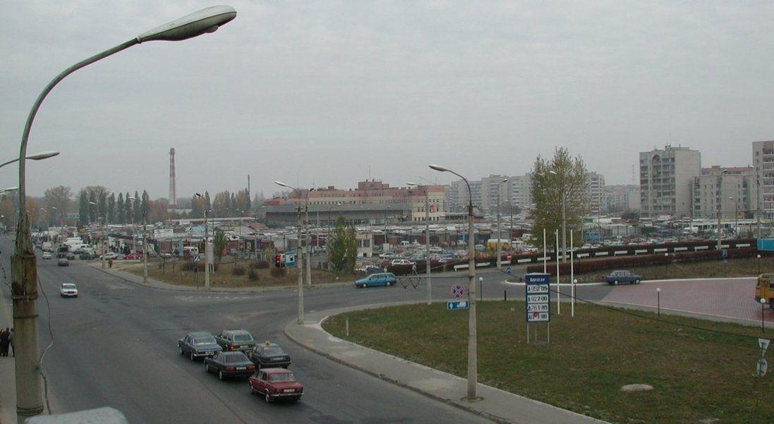 Луцька «Варшавка» на фото 2000-го року
