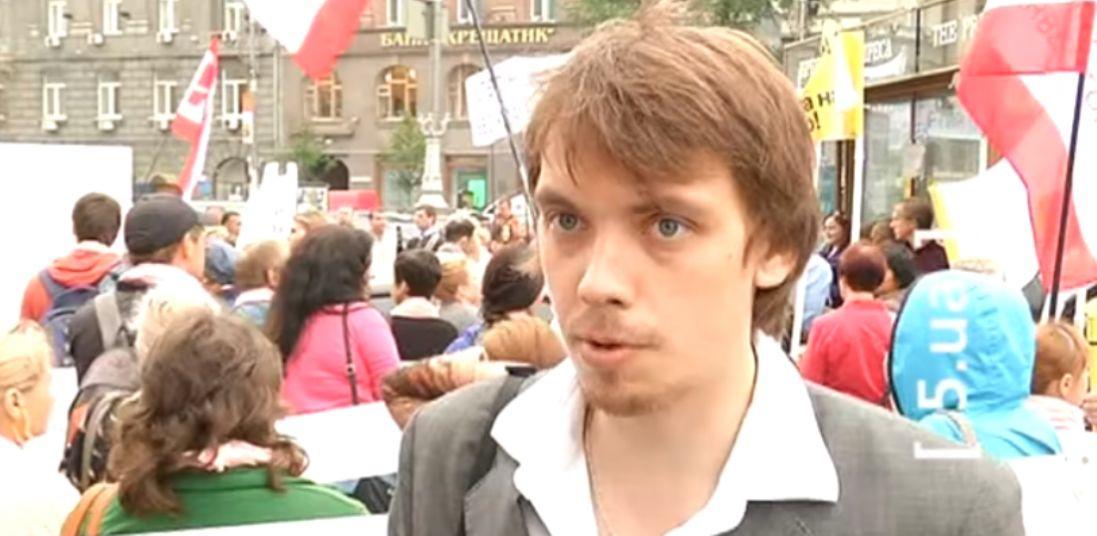 Мітинги і масовки: з'явилися раритетні відео з юним Гончаруком (фото, відео)