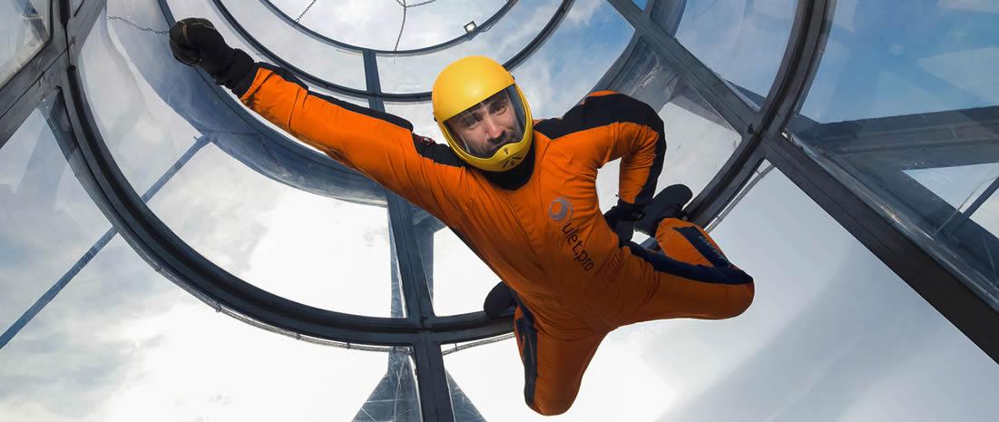 Аеротруба - атракціон, який допоможе літати