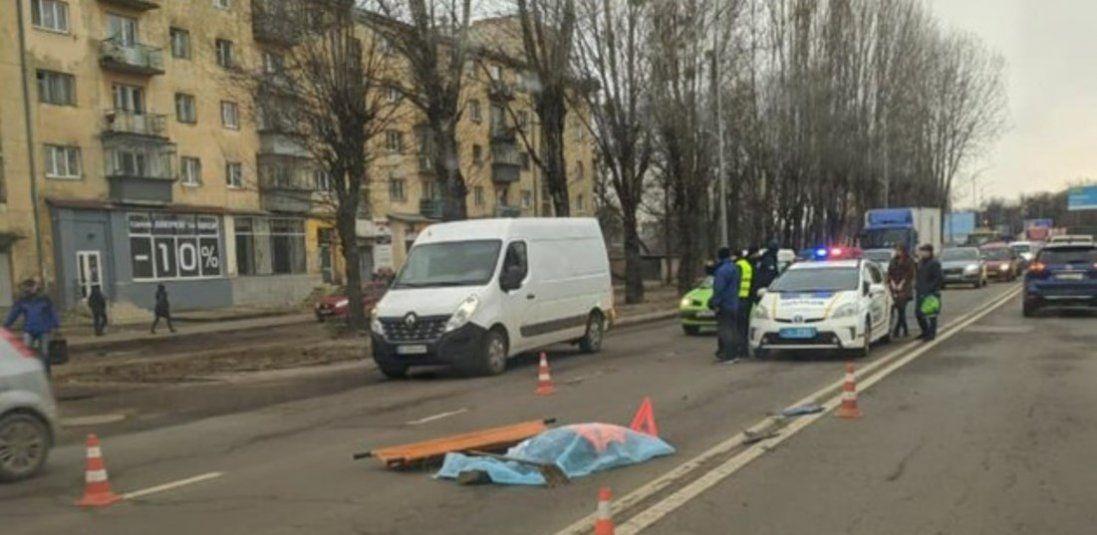 У Львові жінку переїхали два автомобілі
