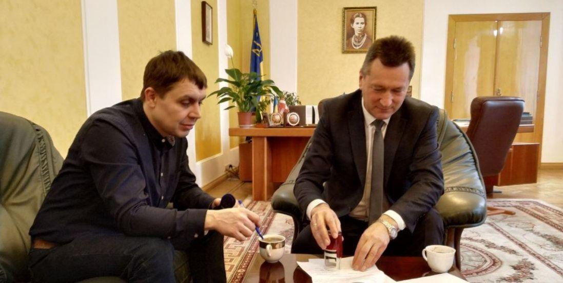 Луцький ІТ-кластер і волинський виш підписали меморандум про співпрацю (фото)