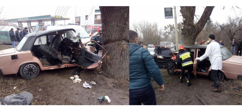 Волинянка на День святого Валентина потрапила в аварію. Її вирізали з авто (фото)