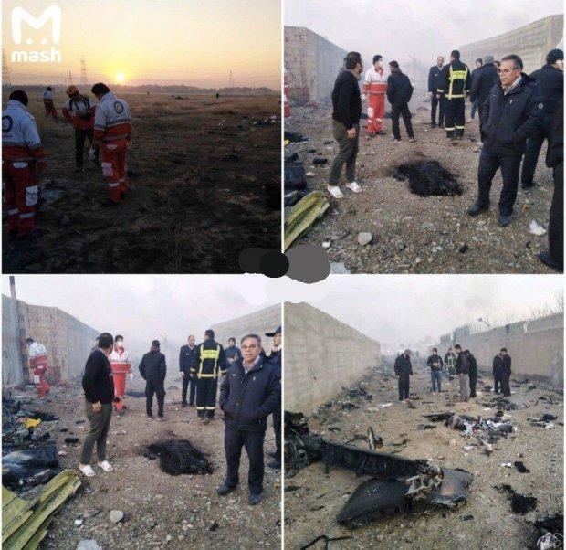 КатастрофаBoeing 737-800 в Ірані