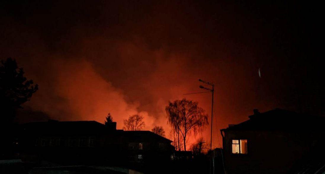 Масштабні пожежі охопили Луцьк. ОНОВЛЕНО (фото, відео)