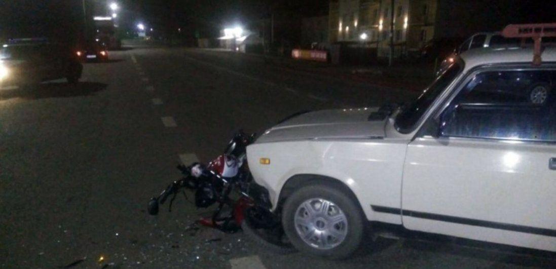 На Волині автомобіль збив мотоцикліста (фото)