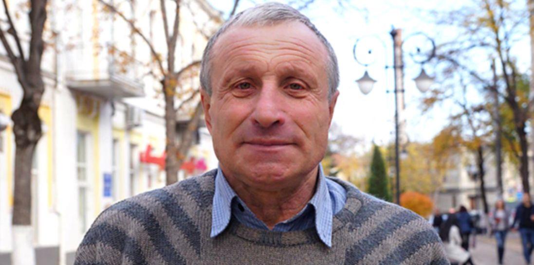 Звільнений із в'язниці у Криму журналіст вже в Києві (фото)