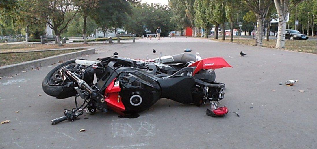 На Волині двоє неповнолітніх мотоциклістів потрапили в аварії