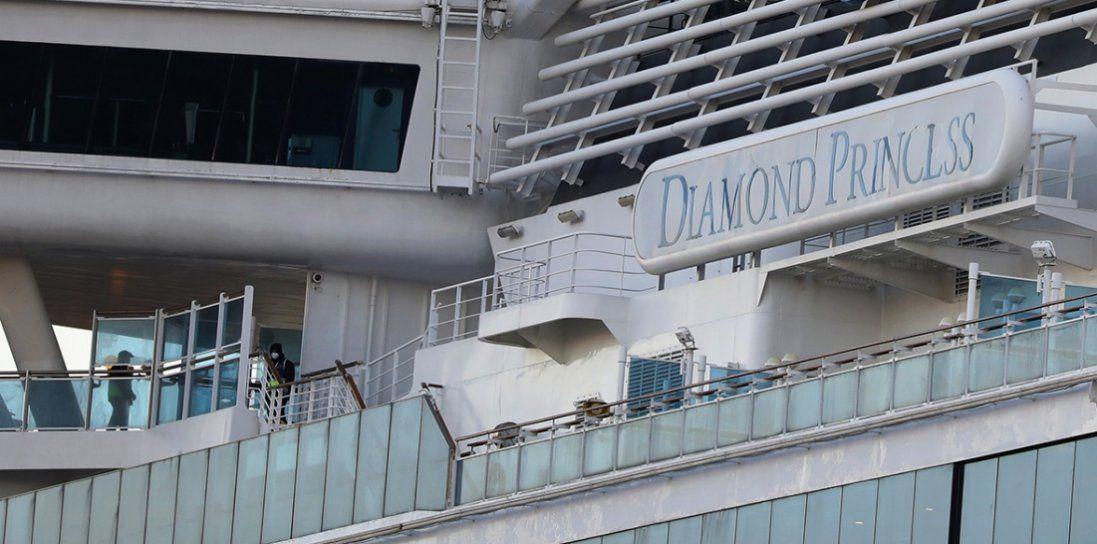 Померло двоє людей, заражених коронавірусом на судні Diamond Princess
