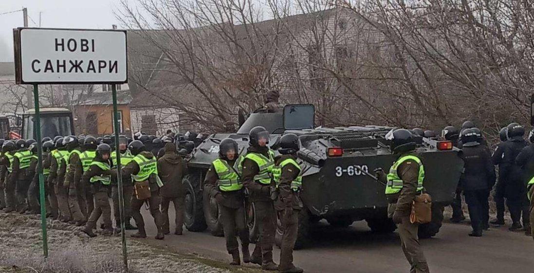 Як охоронятимуть евакуйованих з Китаю українців