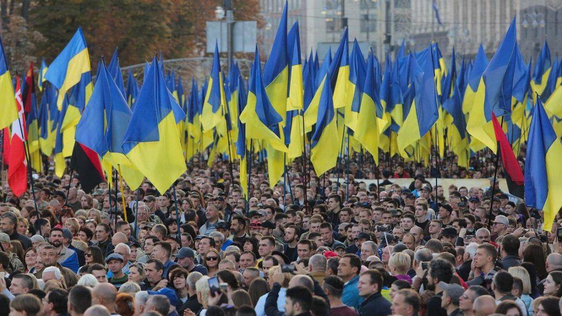 У Києві мітингують шахтарі з Волині (фото)