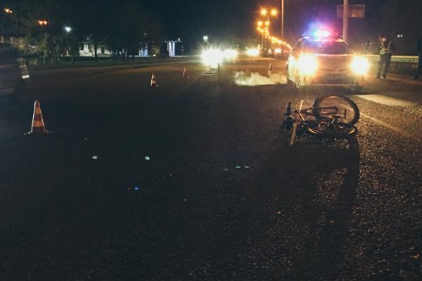 На проспекті Слобожанському машина збила велосипедиста