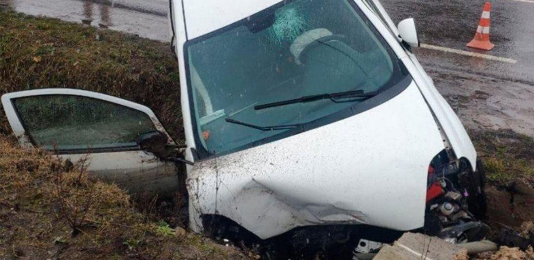 Під Луцьком автомобіль з п'ятирічною дитиною потрапив у ДТП