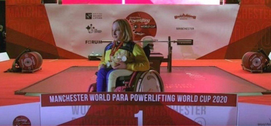 Волинянка здобула Кубок світу з парапауерліфтингу (фото)
