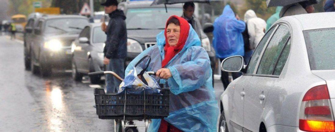 Дощі та сильний вітер – погода в Україні сьогодні