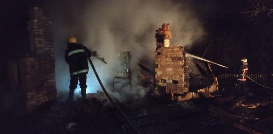 Під час пожежі на Волині загинули двоє дітей