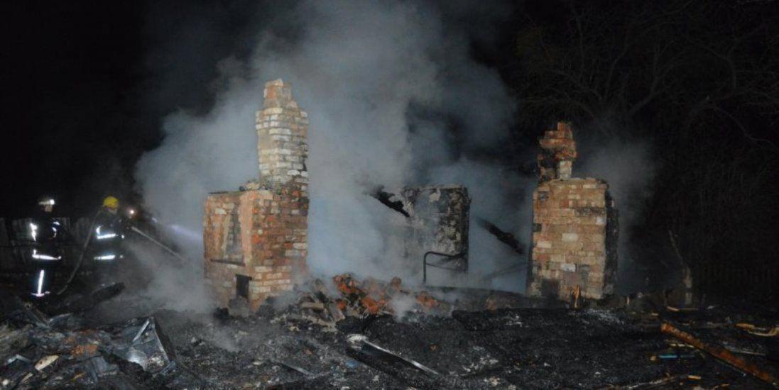 «Там були одні кістки»: розповіли деталі пожежі на Волині (фото)