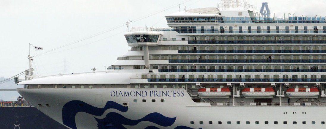 Коронавірус на японському лайнері: захворіли четверо українців