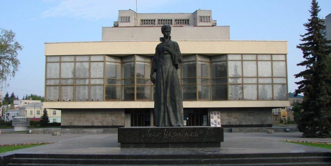 Лучани хочуть поміняти місцями Лесю Українку і Тараса Шевченка