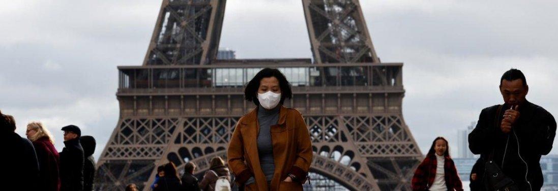 Спалах коронавірусу: у Франції за день заразилися майже 100 людей