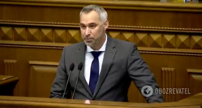 Руслан Рябошапка виступив в Раді