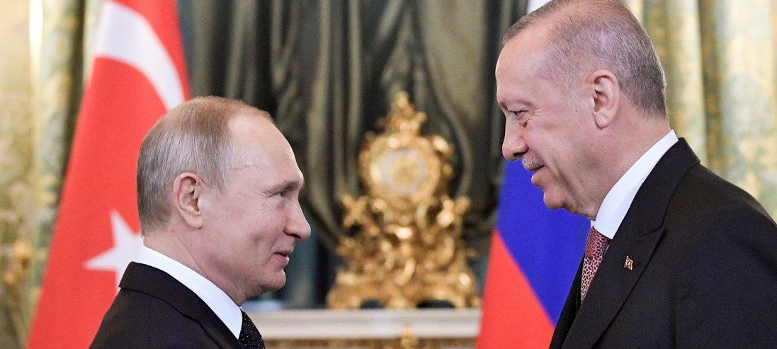 Путін та Ердоган домовилися про припинення вогню в Сирії