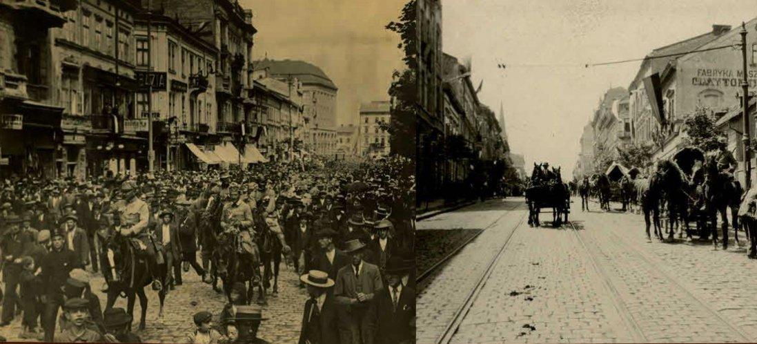 Львів часів Першої світової війни (фото)