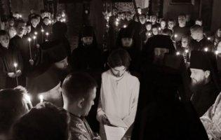 У Луцьку студента постригли в монахи (фото)