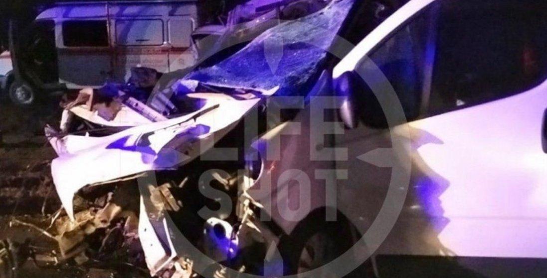 Українська маршрутка потрапила в аварію у Росії – четверо загиблих (фото)