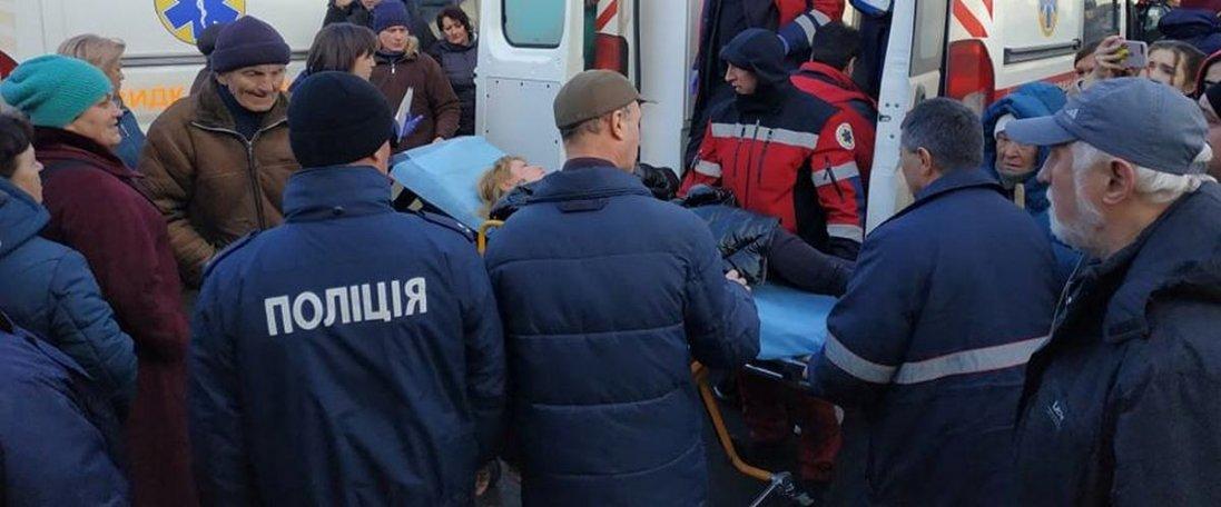 У Луцьку під час сутички на Старому ринку постраждала жінка (фото)