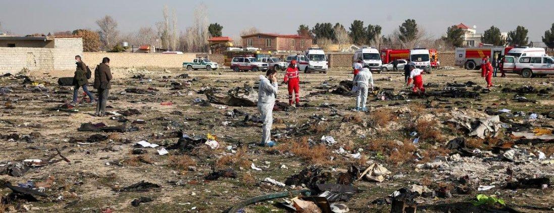 Авіакатастрофа в Ірані: Україні передадуть «чорні скриньки»