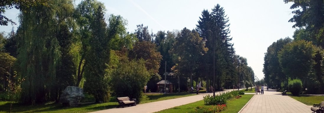 У луцькому парку готуються до встановлення відеоспостереження