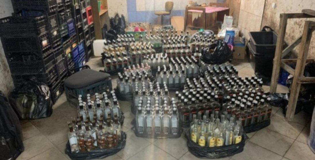 На Волині викрили підпільні цехи виготовлення алкоголю (фото)