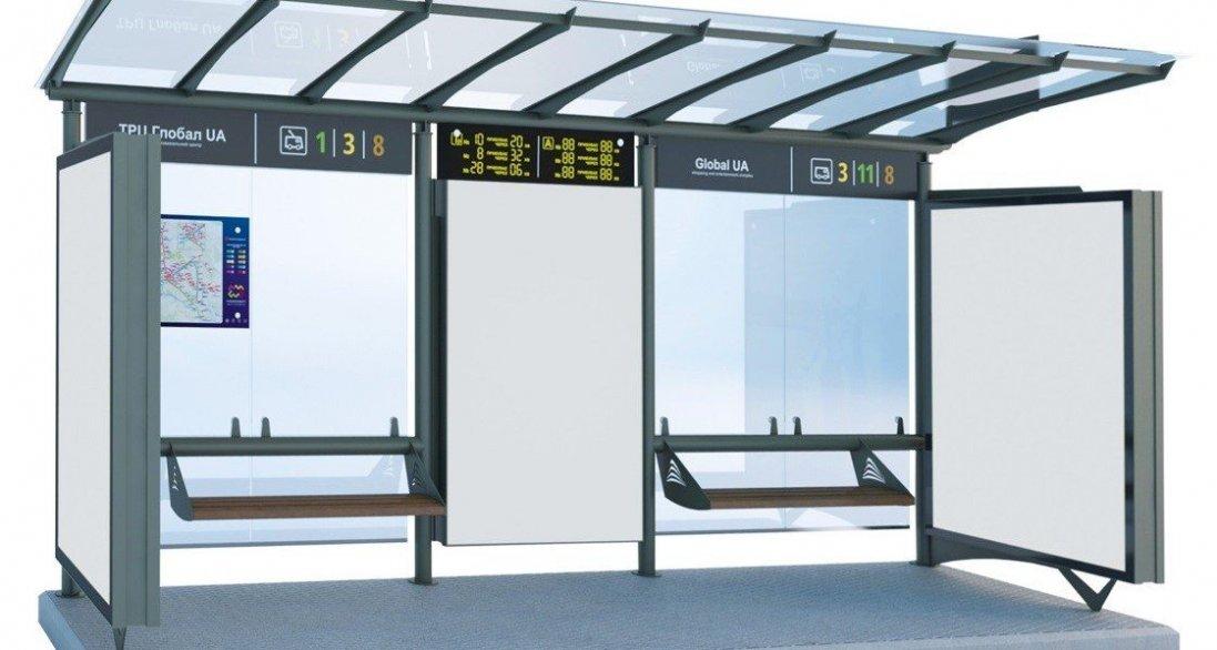 Де у Луцьку встановлять «розумні» зупинки – із сонячними панелями та панелями  для зарядки гаджетів