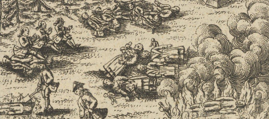 Епідемія на Волині 250 років тому
