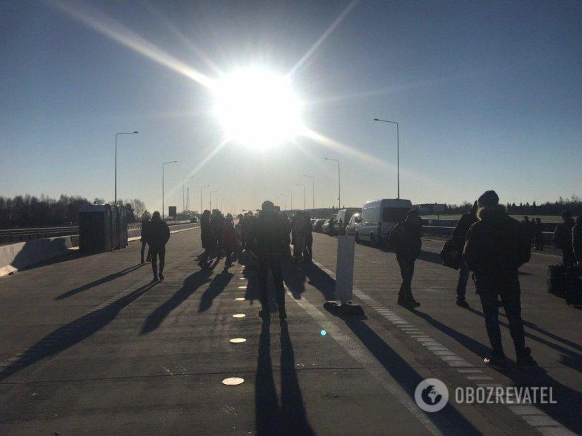 На кордоні з Польщею страйк через коронавірус