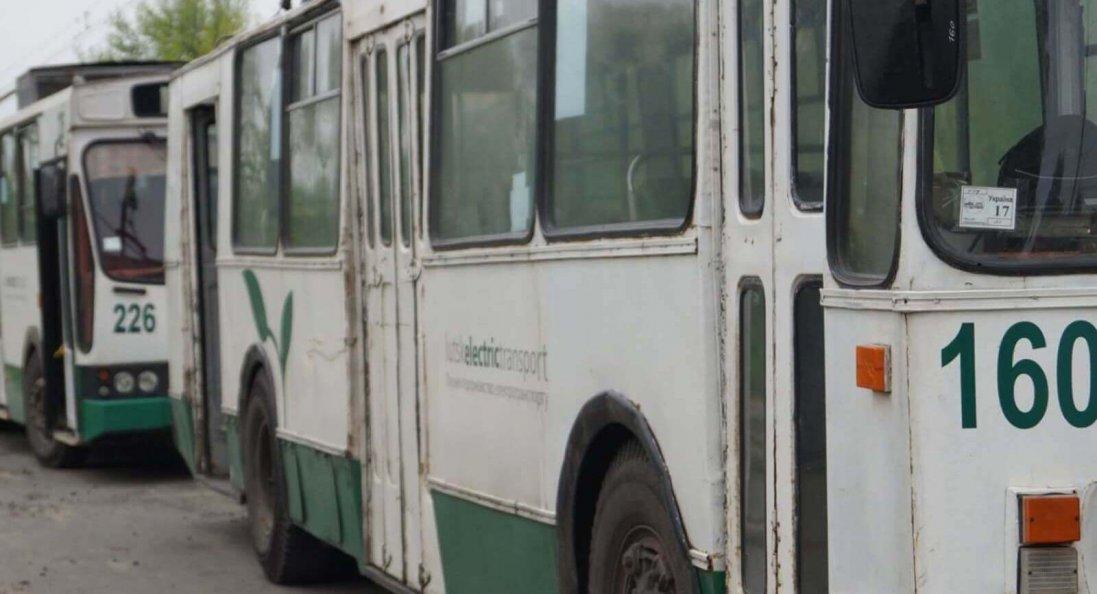 Карантин у Луцьку: містом можуть курсувати лише тролейбуси