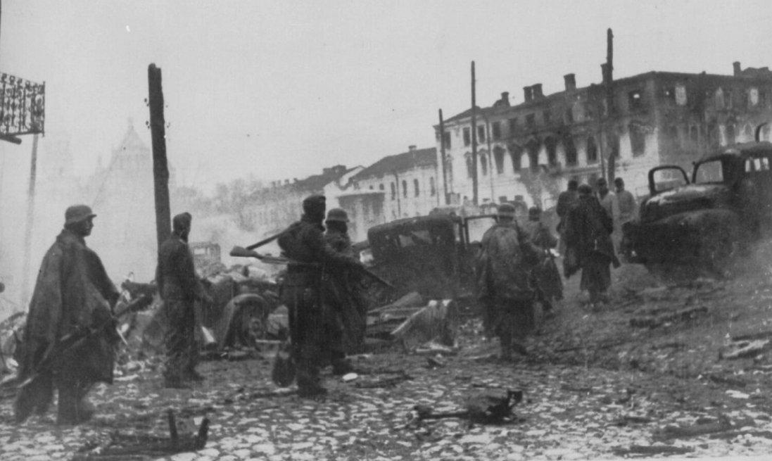 Житомирщина в роки Другої світової війни (ретрофото)