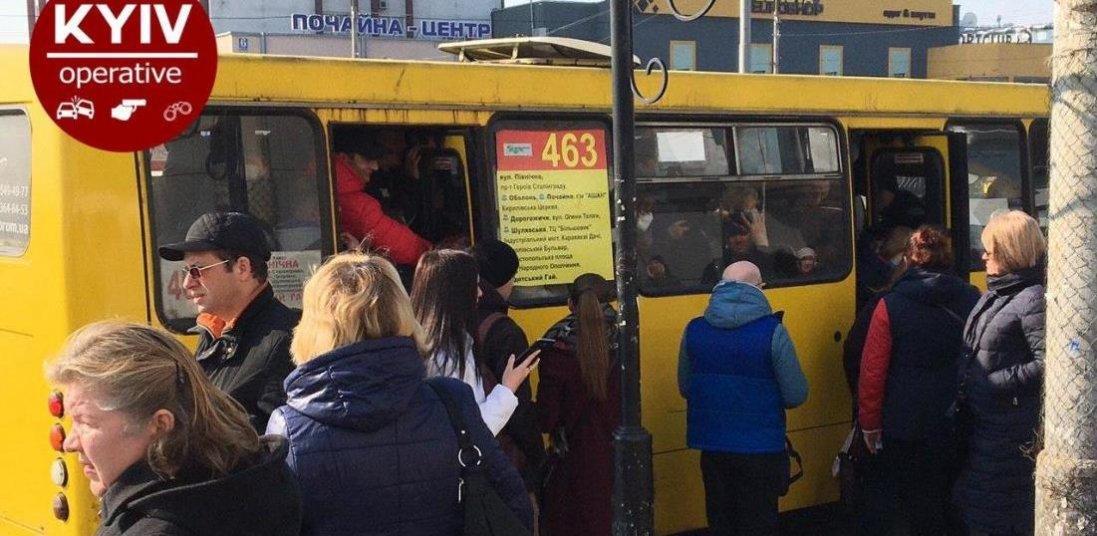 У Києві поліція взялася за переповнені маршрутки