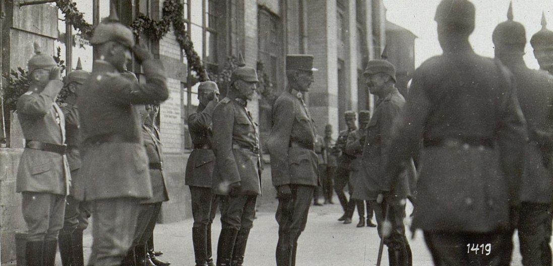Австрійський імператор у Ковелі 100 років тому (фото)